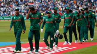 Bangladesh players leave the pitch following a match against India in Edgbaston - June 15, 2017. Photo: Reuters / Andrew Boyers