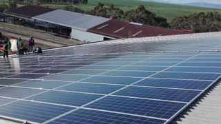 The solar PV system at their headquarters will produce 335 000kWh of clean energy a year for the next 25 years. Photo: www.solafuture.co.za