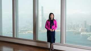 Amy Lo. Photographer: Paul Yeung/Bloomberg