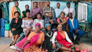 "The cast of ""Giyani - Land of Blood"".  Picture: Supplied"