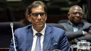 Chairman of the Sekunjalo Group Dr Iqbal Survé testifying at the PIC Commission of Inquiry. Picture: Oupa Mokoena/African News Agency (ANA)