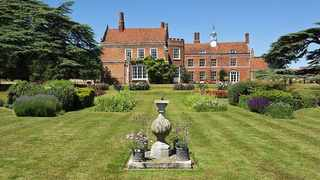 Spains Hall dates back to 1570 and includes fragments of an earlier house which was built around 1400. Pic: OnTheMarket