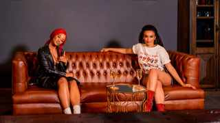 Babes Wodumo and Pearl Thusi. Picture: Supplied