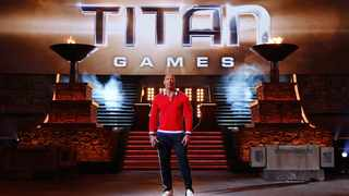 """Dwayne """"The Rock"""" Johnson is the host of """"The Titan Games"""". Picture: Vivian Zink/NBC"""