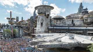 Star Wars: Galaxy's Edge attraction will open at Disneyland on Friday. Picture: Instagram.