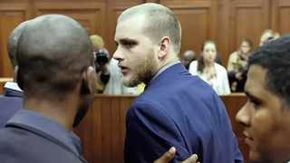 Henri van Breda in court on Monday. Picture: African News Agency (ANA)