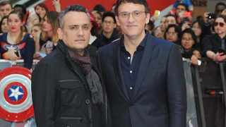 "Joe and Anthony Russo at the European premiere of ""Captain America: Civil War"" at Westfield Shopping Centre in London. Picture: Bang Showbiz"