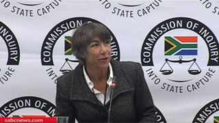 Transnet's acting governance, risk and compliance manager Helen Walsh. Screengrab