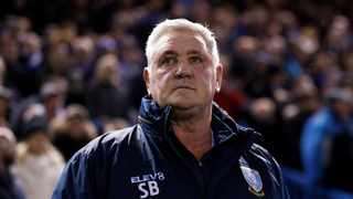 Steve Bruce during his time as Sheffield Wednesday manager. Photo: Action Images/Jason Cairnduff