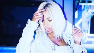 The agony of being pregnant and giving birth had yet to be felt by Denise Zimba at this stage. Picture: Instagram