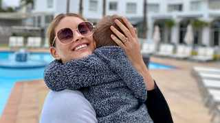 Rolene Strauss, her husband and son enjoyed a staycation in Cape Town.  Picture: Instagram.