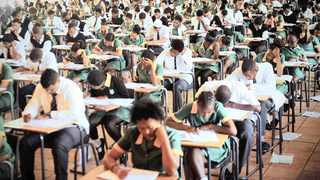 With less than 100 days to go till the final matric exams, pupils are starting to realise what they are made of. File picture: Timothy Bernard/African News Agency