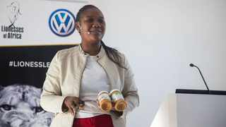 Debbie Ncube, owner and founder of Eden All Natural Peanut Butter. Photo: Supplied