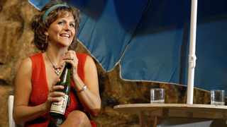 Durban darling Lisa Bobbert stars as Shirley Valentine. Picture: Supplied