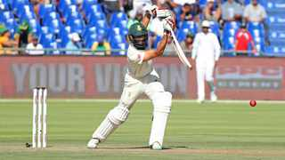 Hashim Amla of South Africa during day 1 of the 2018/19 Castle Lager Test Series match between South Africa and Pakistan at Newlands Cricket Ground, Cape Town on 3 January 2019  Ryan Wilkisky/BackpagePix
