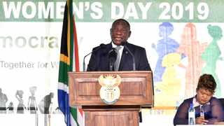 President Cyril Ramaphosa on Friday termed gender-based a national crisis and an affront to the Constitution. Picture: Kopano Tlape/GCIS