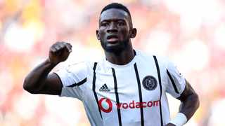 Augustine Mulenga of Orlando Pirates was unable to help his team get the better of his Zambian counterparts as Green Eagles emerged victorious on Saturday. Photo: Muzi Ntombela/BackpagePix