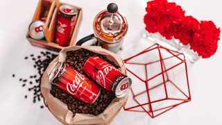 The new Coke plus coffee. Picture: Supplied.
