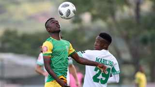 Knox Mutizwa scored in stoppage time to clinch victory for Golden Arrows against Chippa United. Photo: Muzi Ntombela/BackpagePix