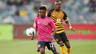 Black Leopards came out determined in the second half and, after some good work, were able to fashion an equalising goal – and, no surprise, it was that man Lesedi Kapinga who scored. Photo: Muzi Ntombela/BackpagePix