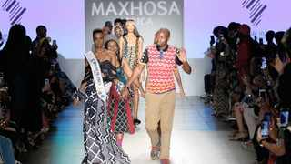 We all know the beautiful Xhosa-inspired designs of Laduma Ngxokolo, whose principal medium is wool – sourced from the Eastern Cape. File Photo: IOL