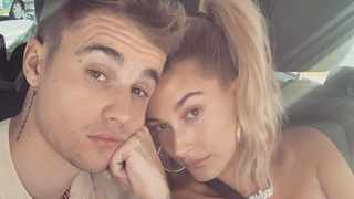 Justin and Hailey Bieber. Picture: Instagram