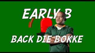 Afrikaans rapper Early B ft Justin Vega have crafted a hot anthem for rugby supporters to sing along as they 'Back Die Bokke'. Picture: Screengrab