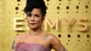 Halsey performed an emotional rendition of Cyndi Lauper's 'Time After Time' during the In Memoriam segment at the Emmy Awards on Sunday. Picture: Reuters/Mario Anzuoni