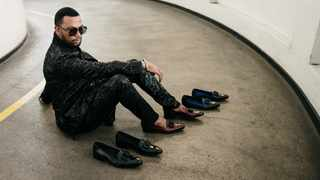 David Tlale X Crockett and Jones. Picture: Supplied