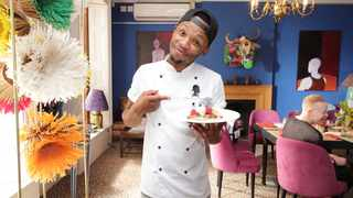 Chef Ayabonga Gope. Picture: Supplied