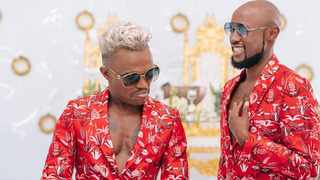 Somizi partners with G.H Mumm for his wedding. Picture from Instagram (Somizi)