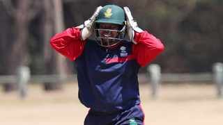 Sinalo Jafta has been rewarded with a Proteas national contract after some fine recent form. Photo: Muzi Ntombela/BackpagePix