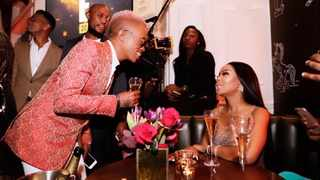 Somizi Mhlongo and Bonang Matheba. Picture: Twitter