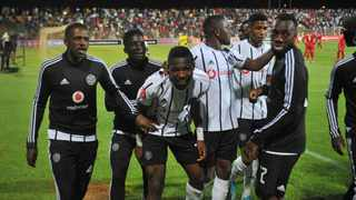 Orlando Pirates got a late win over Highlands Park. Photo: Sydney  Mahlangu/BackpagePix