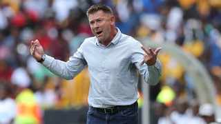 """I am a winner,"" Maritzburg United's coach Eric Tinkler said with a straight face followed by a naughty laugh to the question of what's the secret behind his Midas Touch.. Photo: Samuel Shivambu/BackpagePix"