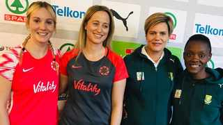 The Proteas will face England in three tests at the Bellville Velodrome this weekend.Photo: @Netball_SA on twitter