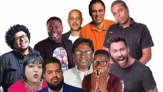 """15 comedians prepare to make you laugh tonight in """"The Big Durban Comedy Show""""."""