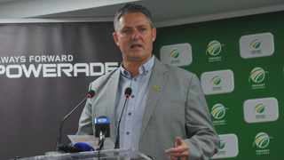 """Jacques Faul has been Cricket South Africa's interim chief executive for less than a fortnight but he is in no doubt about the state of the organisation - """"Cricket South Africa is in crisis,"""" he said on Thursday. Photo: Sydney Mahlangu/ BackpagePix"""