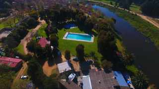Camping is an ideal budget-friendly option for families. Picture: Berg River Resort.