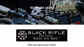 A screengrab of the Black Rifle Real Estate website.