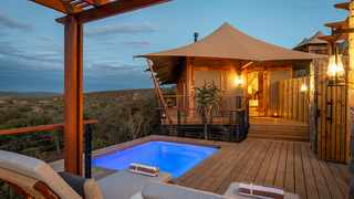 Shamwari Private Game Reserve in the Eastern Cape recently launched Sindile, its new flagship tented camp. Picture: Supplied.