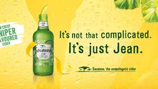 Savanna launched the first juniper-flavoured cider in the South African market, challenging category norms and innovating in line with evolving consumer needs and category trends. Picture from Twitter.