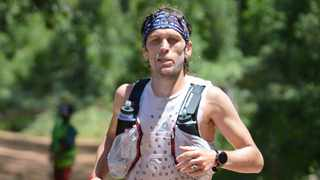 Top South African ultra-trail athlete, Ryan Sandes, plans an attempt this week on his own record for Cape Town's 'Thirteen Peaks' circuit before the lock down on Thursday night. Photo: Stephen Granger