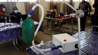 A prototype of a ventilator is seen at a polytechnic laboratory amid an outbreak of the coronavirus disease (Covid-19). Photo by: REUTERS/Zohra Bensemra