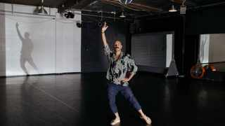 Choreographer Ryan Heffington, pictured here at the Sweat Spot in September 2019, is hosting dance workouts on Instagram Live. Picture: The Washington Post/Jessica Pons