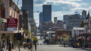 The Central Business District of Johannesburg on April 6. Picture: Waldo Swiegers/Bloomberg