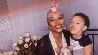 DJ Zinhle and  Kairo Forbes. Picture: Instagram.