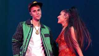 Justin Bieber and Ariana Grande. Picture: YouTube Thumbnail