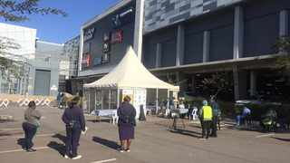 A coronavirus testing site has been launched at Forest Hill City Mall in Centurion. Picture: James Mahlokwane