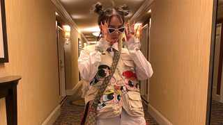 Performer Billie Eilish has influenced teen style. Picture: Instagram